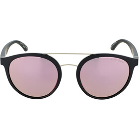 Alpina Caruma II Gafas, black matt/rose-gold mirror